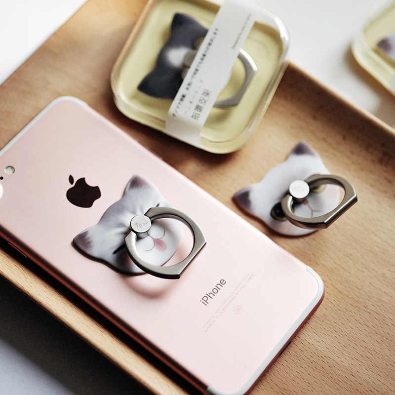 Hot Selling Nieuwe Producten Maoxin Ook Meow Handset Ring Beugel Zuid-korea Leuke Creatieve Lui Bevestigd Ring Gift Desktop Kat
