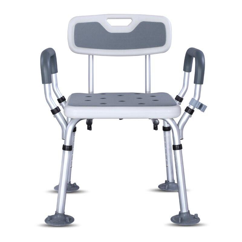 Simplicity Elderly Bathroom Furniture Seat Anti-skid Bath Chair Stool Special Chair Home Commode Chair Taburete Sgabello Doccia