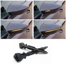 Dynamic LED Blinker Indicator Mirror Turn Light Signal Repeater Suitable for Seat Leon SC ST R Cupra MK3 5F 5F1 5F5 5F8 2012