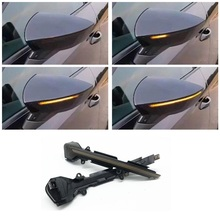 Signal de clignotant dynamique pour Seat Leon SC ST R Cupra MK3 5F 5F1 5F5 5F8 LED indicateur de clignotant dynamique, 2012