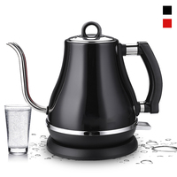 1.2L 304 Stainless Steel Electric Kettle Gooseneck 1500W Household Kitchen 220V Quick Heating Electric Boiling Tea Pot