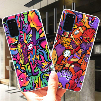 SUPREME Copic Marker Doodle Soft TPU Silicone Phone Case Cover For Samsung S10 S20 Plus Ultra 5G S10E S6 S7 Edge S8 S9 Plus image