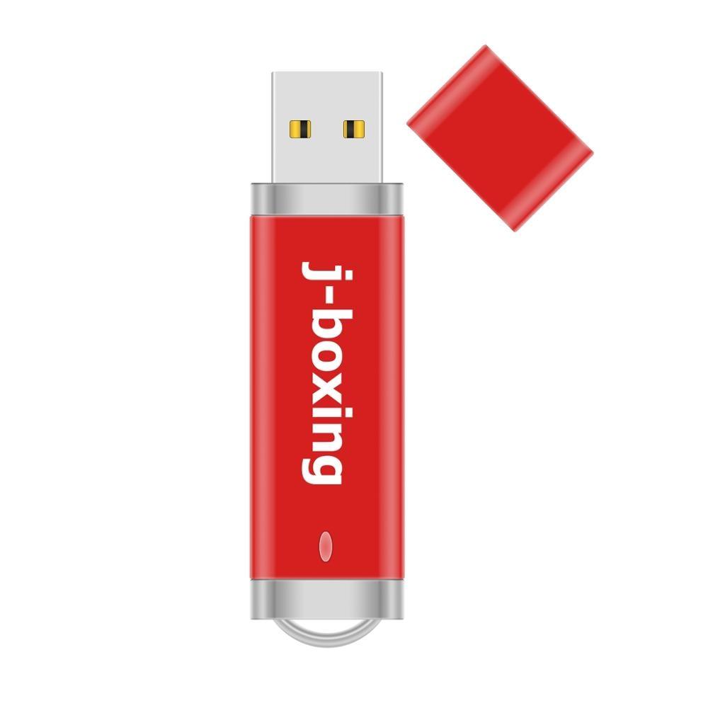 NEW 128GB 64GB USB 2.0 Flash Drive Lighter Model Memory Pen Stick Mini Metal Storage U Disk For PC Macbook Tablet 32GB 16GB  Red