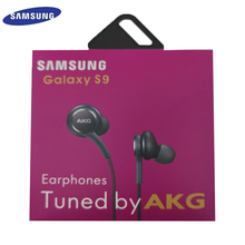 سامسونج AKG EO IG955 سماعات 3.5 مللي متر في الأذن مع ميكروفون سلك سماعة لسامسونج غالاكسي S8 S9 s10 هواوي شاومي الهاتف الذكي