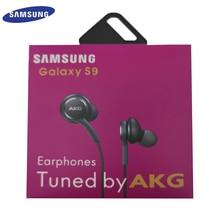 סמסונג AKG EO IG955 אוזניות 3.5mm באוזן עם מיקרופון חוט אוזניות עבור Samsung Galaxy S8 S9 s10 huawei xiaomi smartphone