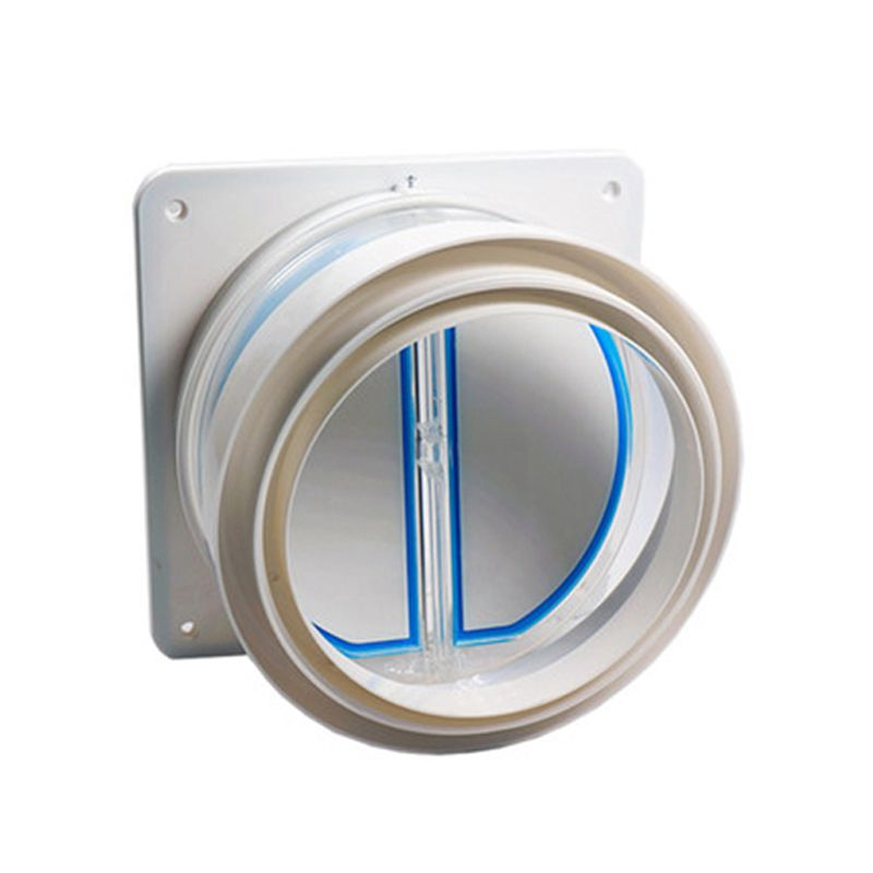 High Quality Kitchen Range Hoods Check Valve Anti Odor Control Bathroom Check Valve Back-pressure Valve Non-return Flap Valve