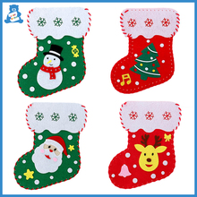 Toys Manual-Socks Gift Kindergarten Handmade DIY Kids Cartoons New-Year Candy for Xmas