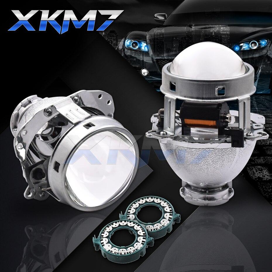 Lentilles de phares EVOX-R V2.0 Bixenon HID projecteur pour BMW E60 E39 E53/Audi A6 C5/Benz W211 W209 W219/Ford Fiesta/B6 B5.5 Tuning