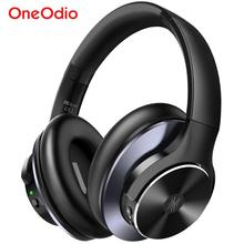 Oneodio A10 aktif gürültü iptal kablosuz Bluetooth kulaklık 40Hrs Bluetooth 5.0 kulaklık mikrofon ile hızlı şarj AAC