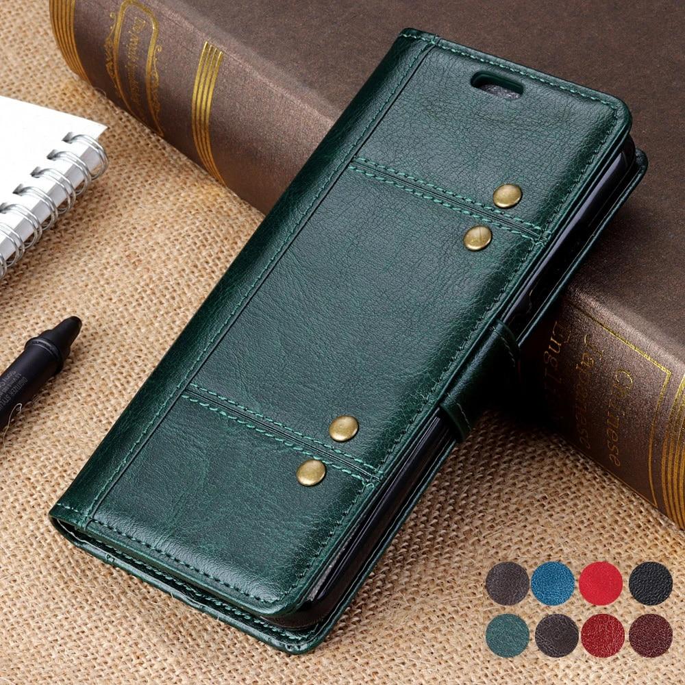 Étui à rabat en cuir pour Huawei P Smart Z 2021, portefeuille avec fente pour carte, coque pour P Smart Pro Plus S 2020 Smart2021
