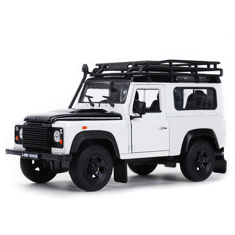 Welly 1:24 Landrover Defender SUV Car Static Simulation Diecast Alloy Model Car