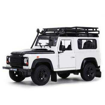 Welly 1:24 Landrover Defender SUV Car Static Simulation Diecast Alloy Model