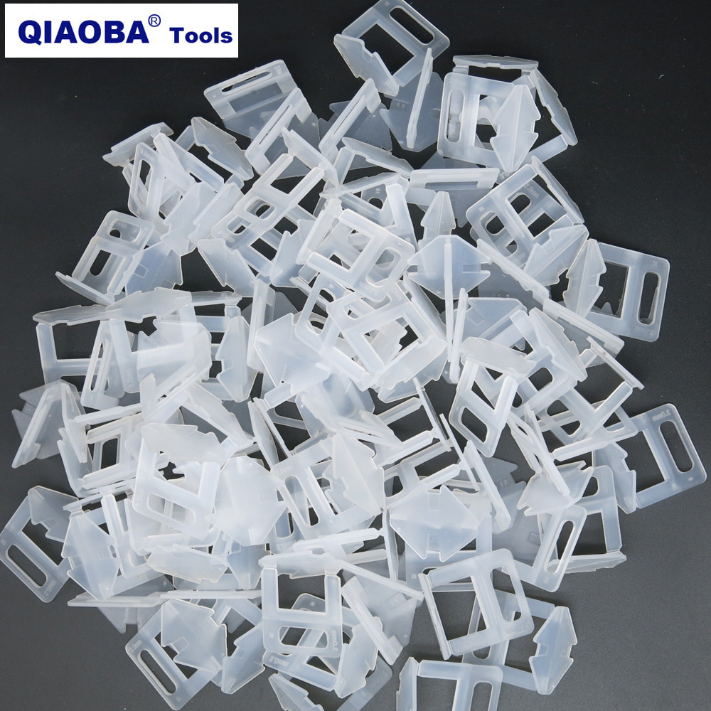 3mm Tile Clips Ceramic Tile Spacer  Pack Of 200pcs Tile Leveling System