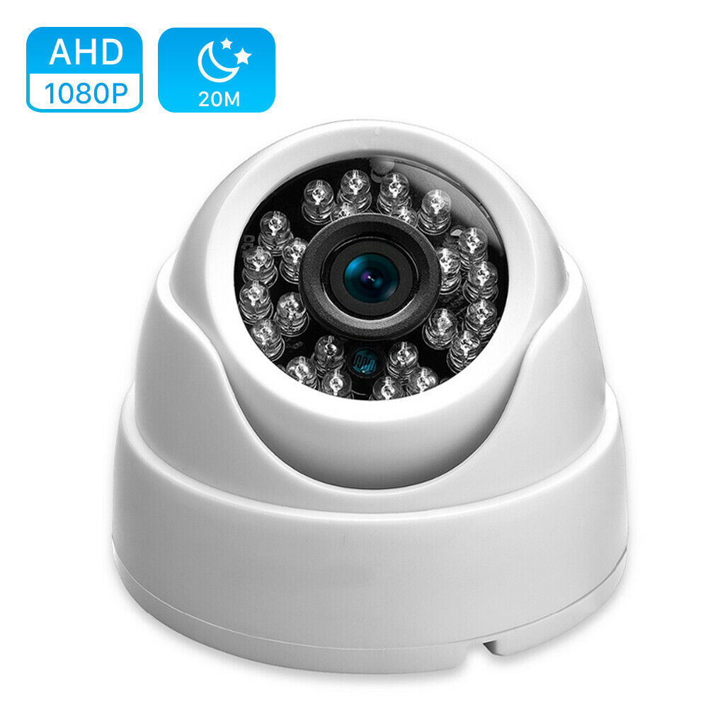 TVI AHD CVI 3IN1 Dome Camera  Outdoor Indoor Fixed Camera Weatherproof Smart IR Cut CCTV Security Cam System 720P 1080P