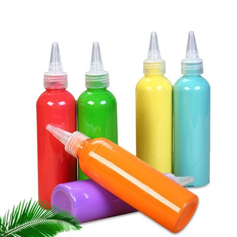 grande garrafa de acrilico pigmento aquarela pintura desenho arte diy artesanal pintura ferramenta