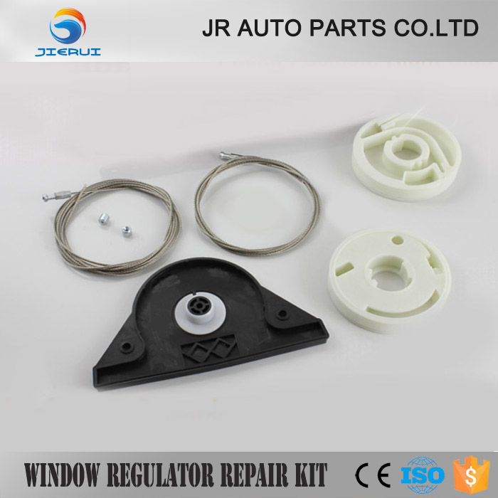 DR <font><b>VW</b></font> <font><b>T5</b></font> <font><b>MULTIVAN</b></font> CARAVELLE WINDOW REGULATOR REPAIR KIT & ELECTRIC SLIDING DOOR REPAIR KIT RIGHT SIDE * NEW * image