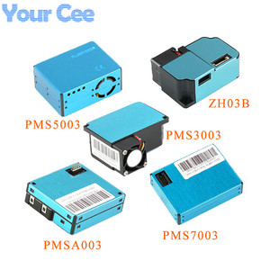 PM2.5 Высокая точность PMS5003 PMS7003 PMS3003 PMSA003 ZH03B модуль датчика частиц воздуха пыли цифровой лазерный датчик электронный DIY