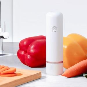 Image 4 - Youpin miaomiaoce スマートハンドヘルド真空ポンプ電動吸引ポンプ自動マニュアルモード圧縮袋食品保存