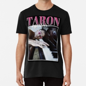 90 Vintage Taron T Shirt taron egerton elton john rocketman film movie