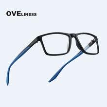 TR90 الرجال النظارات البصرية الإطار للنساء الكمبيوتر نظارات وصفة طبية شفافة قصر النظر النظارات واضح وهمية نظارات نظارات