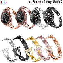 Correa de Metal para Samsung Galaxy Watch 3, 45mm, 41mm, repuesto de correa de reloj