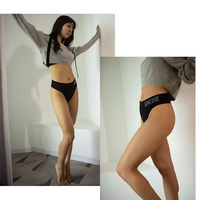 Everyday Cotton Thong Panties  3