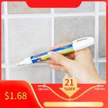 Нетоксичная Затирка ремонтная керамическая плитка резак маркер Водонепроницаемый без запаха плитка ремонтная ручка с реверсивным пером ванная комната