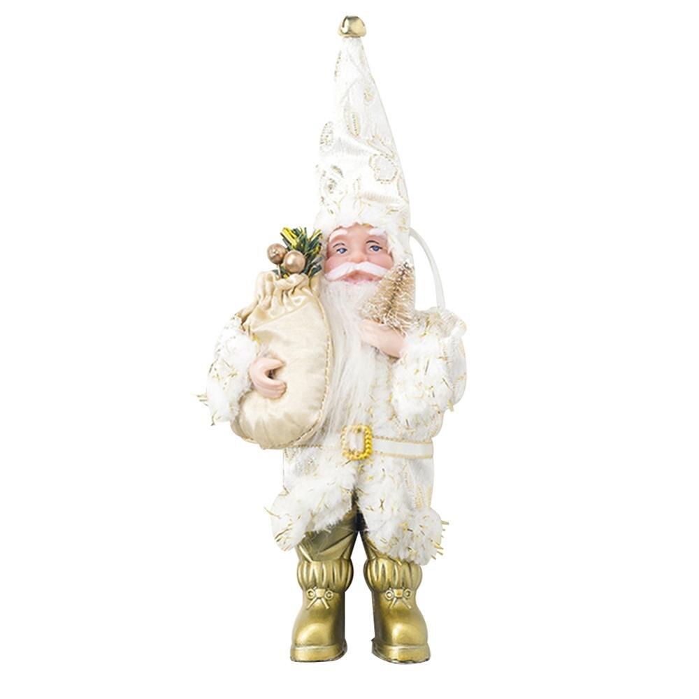 Хит, 30 стилей, рождественские украшения для дома, Рождественские куклы, елочные украшения, инновационная декорация с лосем, Сантой, снеговиком - Цвет: P 23x10cm