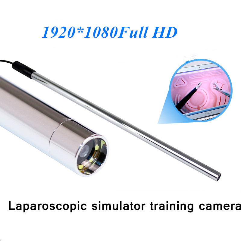 Training Of Simulated Abdominal Surgery For Medical Students With Laparoscopic Straight-rod Camera And Endoscope Camera