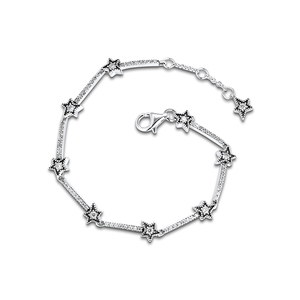 Image 5 - Christmas Celestial Stars Bracelets For Jewelry Making Sterling Silver Jewelry For Woman DIY Fashion Bracelets