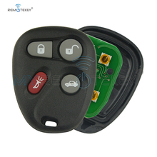Remotekey 25665574 25665575 KOBUT1BT/KOBLEAR1XT 315Mhz 4 Buttons for GM Buick Cadillac Chevrolet GMC 2001-2007