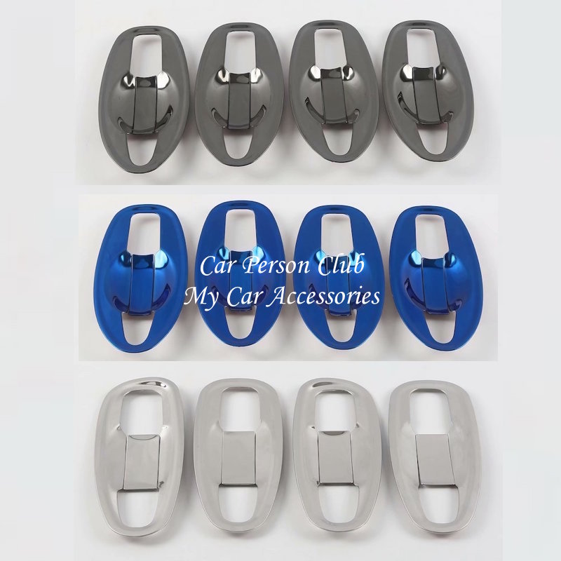 Stainless Steel Sticker <font><b>Door</b></font> <font><b>handle</b></font> Bowl Cover Trims For <font><b>Nissan</b></font> <font><b>X</b></font>-<font><b>Trail</b></font> T32 Rogue XTrail 2014-2017-2020 Car-styling Accessories image