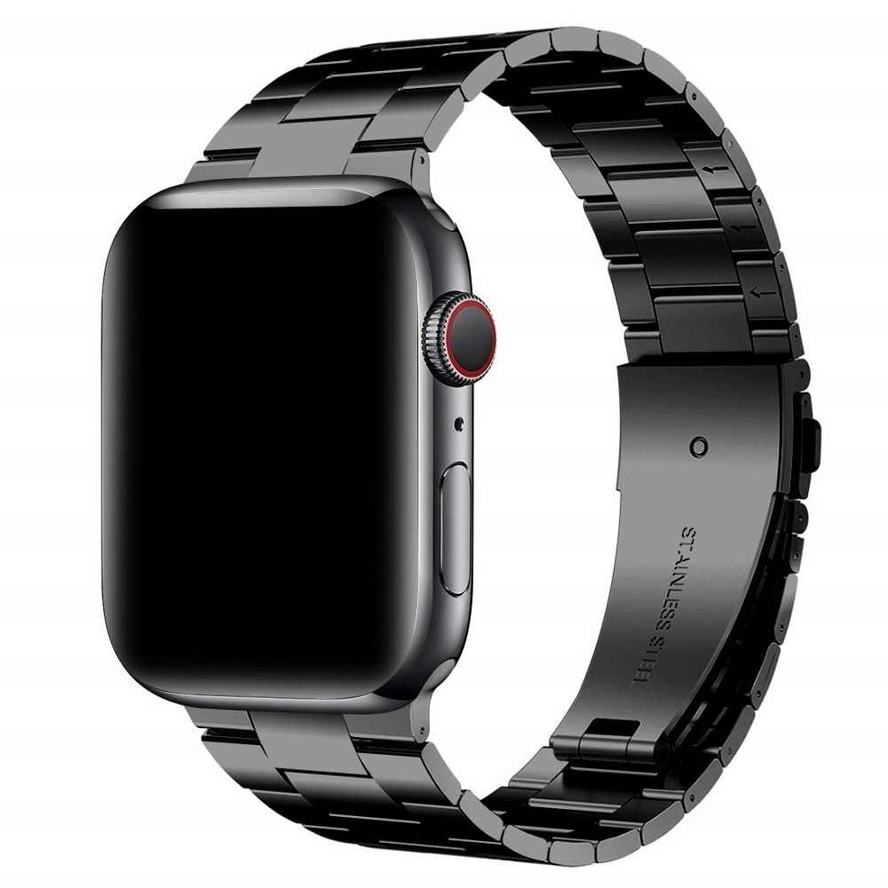 Correa para apple watch 5 4 bandas 40mm 44mm para iwatch bandas 38 mm 42mm Correa pulsera Acero inoxidable Correa