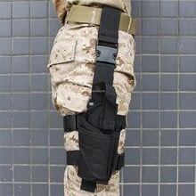 Paintball udo Gun Holster taktyczna wojskowa polowanie Cs noga kabura dla Glock 17 19 23 32 36 Beretta M9 92 Glock akcesoria
