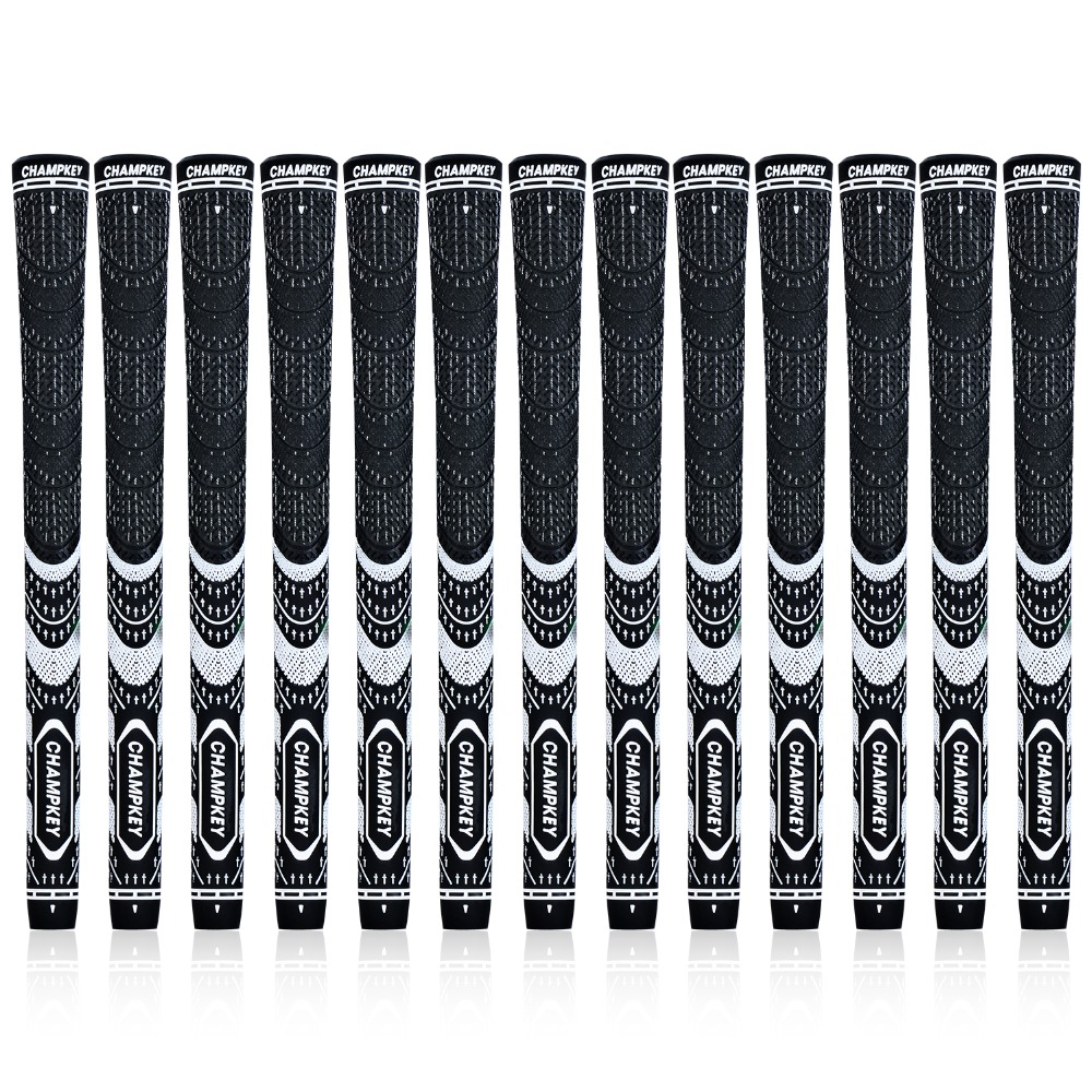 New 13PCS Multi Compound Midsize Golf Club Grips 6 Colors Champkey MCS Golf Grips  Free Shipping