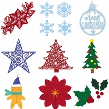 Christmas Decoration Metal Cutting Dies Fancy Decor. Die Cuts For Card Making DIY Scrapbooking New 2019 Embossed Crafts Cards