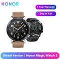 Оригинальный Honor Magic Watch 2 Smart Watch глобальная версия 42 мм/46 мм Honor Magic 2 Spo2 кислород в крови сердечный ритм Водонепроницаемый