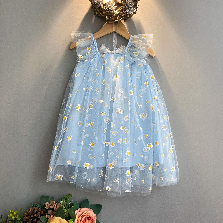 2020 New Kids Clothes Dresses For Girls Fashion Wedding Dress Girl Princess Dress Children's Wear Party Star Dress 4