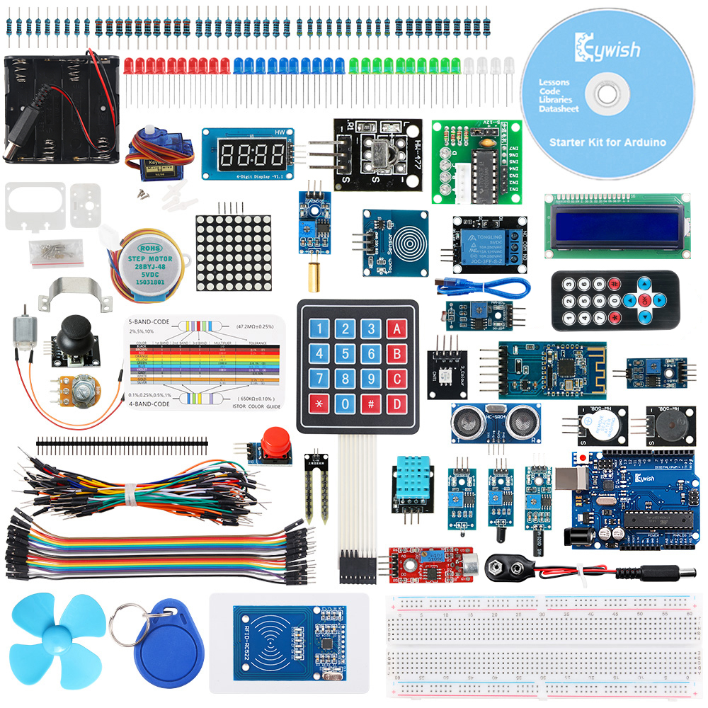keywish-rfid-starter-diy-kit-for-font-b-arduino-b-font-uno-r3-with-bluetooth-module-34-lesson-solder-free-support-scratch-mblock