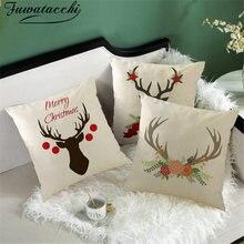 Наволочка для подушки fubatacchi с изображением рождественского