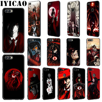 IYICAO Anime Hellsing Alucard de silicona suave funda para Huawei Honor 20 9X Pro 10 9 8 Lite 8X 8C 7X 7C Nota 10 caso