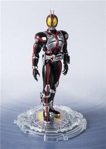 Image 2 - Japan Anime SHF Masked Rider Faiz 20 Kamen Rider Kicks Ver. BJD Action Figure Model Toys