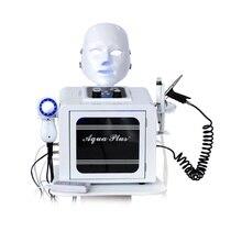 8 in 1 hydra plus hydra peeling micro bubble salon machine oxygen jet spray photon rf multifunctional skin care
