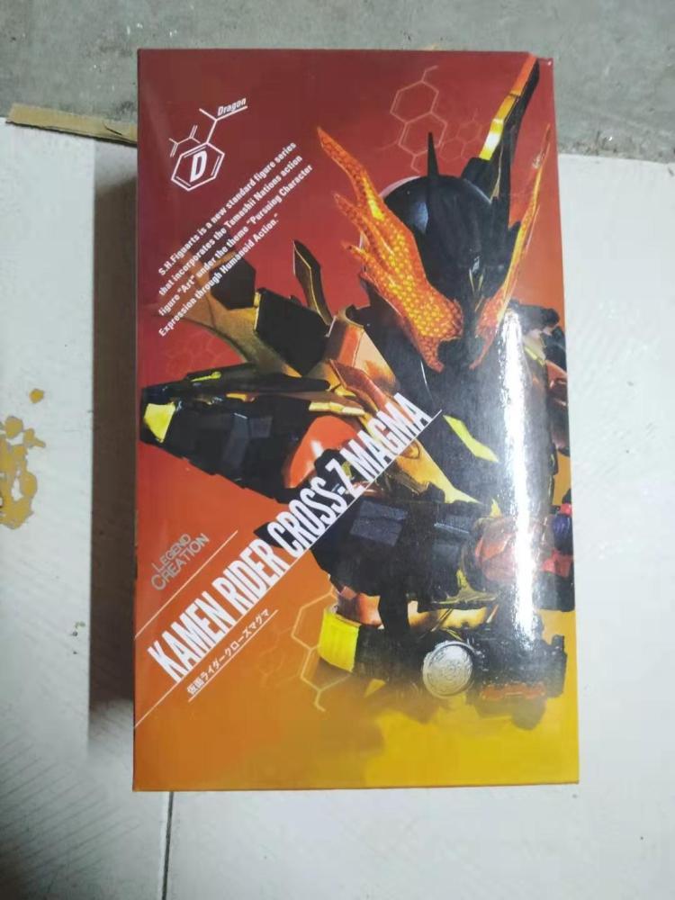 Image 5 - SHF Masked KAMEN Rider Cross Z MAGMA Ver. BJD Action Figure Model ToysAction & Toy Figures   -