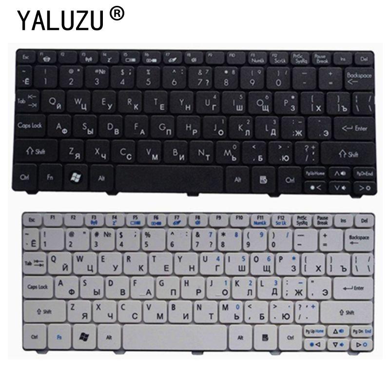 YALUZU Keyboard For Acer Aspire One D255 D255E D257 AOD257 D260 D270 AOD260 AO521 AO532 AO533 532 532H 521 533 RU RUSSIAN