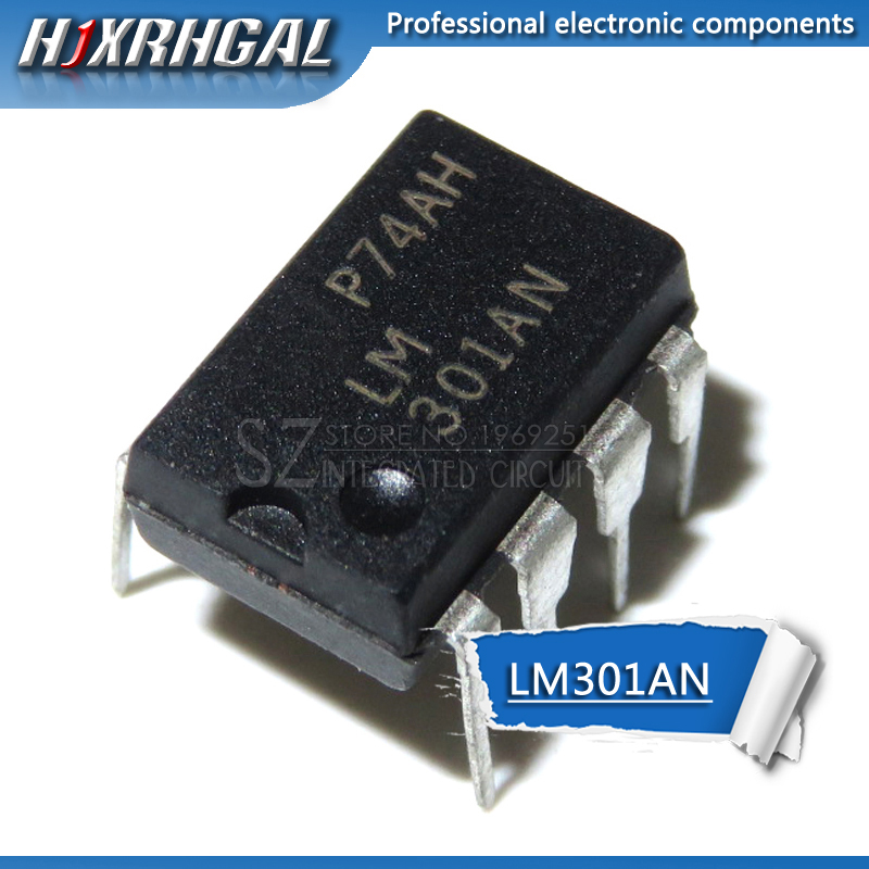 10 PCS LM301AN DIP-8 LM301 Operational Amplifiers