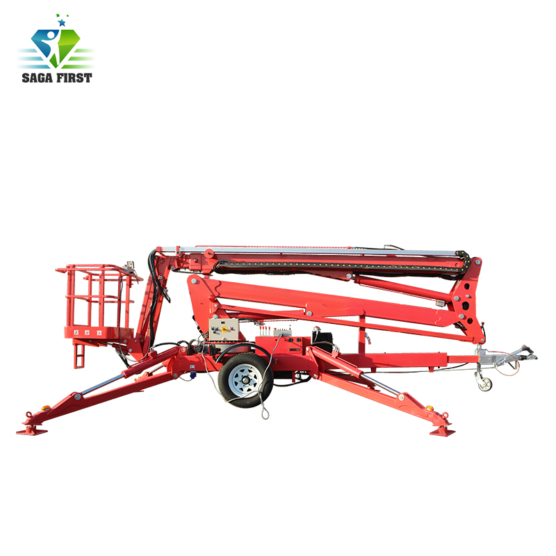 360 Degree Rotary 6-16m Articulating Boom Lift Rental