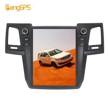 Android 7.1 2+64 Tesla system car no dvd player radio gps automatic For Toyota Fortuner 2007 2008 -2015 navigation multimedia