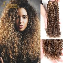 Water-Wave-Bundles Brazilian-Hair Joedir Curly for Black-Women 8-18inches One-Pcs Remy
