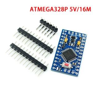Image 1 - 10 teile/los ATMEGA328P Pro Mini 328 Mini ATMEGA328 5V/16MHz für Arduino